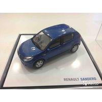 Renault Sandero 1:43 Официальная дилерская модель - Производитель ELIGOR