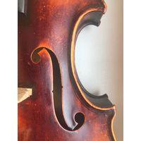 Старинная мастеровая скрипка с клеймом