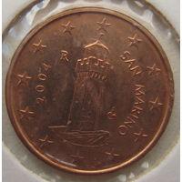 Сан-Марино 1 евроцент 2004 г.