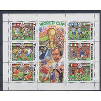 [1856] Танзания 1994. Спорт.Футбол.Чемпионат мира. МАЛЫЙ ЛИСТ.