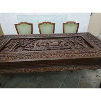 Императорский стол резной старинный шедевр
