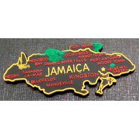 """Магнитик """"Ямайка"""". 90х40 мм. распродажа"""