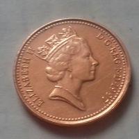 1 пенни, Великобритания 1997 г., AU