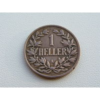 Германская Восточная Африка. 1 геллер 1904 год KM#7