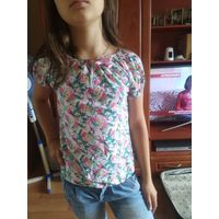 Блуза блузы одежда  на девочку 8-9 лет