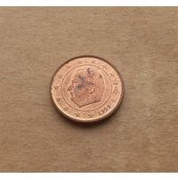 Бельгия, 1 евроцент 1999 г.