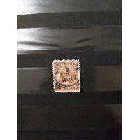 1892 Голландская колония Ост-Индия королева (4-7))