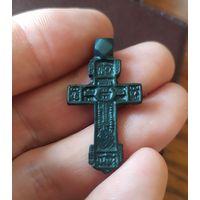 Красивый старинный крестик.сохран