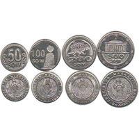 Узбекистан  4  монеты  2018 год  UNC