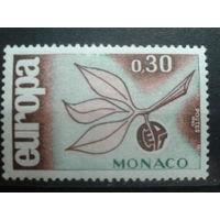 Монако 1965 Европа Михель-1,0 евро
