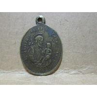 Медаль жетон образок католический Вс.Иосиф .Ватикан Италия нач.20-го века