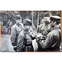 Михаил Шолохов.  Набор открыток. Фотографии. Издательство Планета. 1975 год.