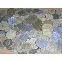 ЛОТ более 200 монет РАННИЕ СОВЕТЫ.