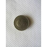 5 песет 1957 (58) Испания КМ# 786 медно-никелевый сплав