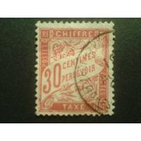 Франция 1894 доплатная марка