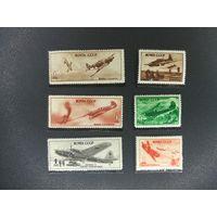 1945 год 6 марок из серии Советские самолеты в Великой Отечественной ! с 1 руб! ПРОДАЖА КОЛЛЕКЦИИ!