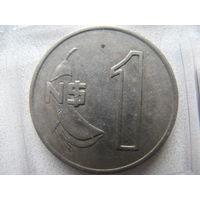 Уругвай 1 песо 1980 г.