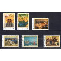1977 Греция живопись 6 м ** (Р18