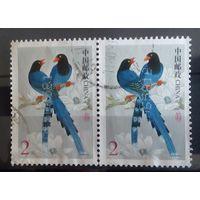 Китай птицы-2 марочки
