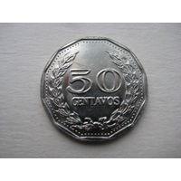 КОЛУМБИЯ  50 СЕНТАВО 1974 ГОД