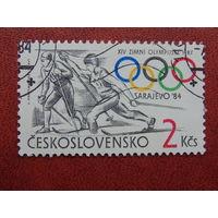 Чехословакия 1981г. Спорт.