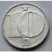 Чехословакия 10 геллеров, 1977 г.