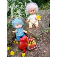 Куклы СССР сестрички.Стоимость одной куколки.
