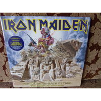 IRON MAIDEN. Somewhere Back In Time. 2008 2LP Europe