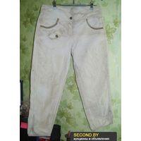 Бриджи-варёнки джинсовые р.44-46