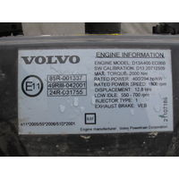 Двигатель на VOLVO FH-13