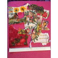 Декупаж Салфетки для декупажа то, что на фото лось, новый год, птичка, цветы, бабочка, ноты