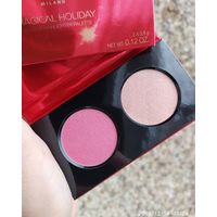 Kiko Magical Holiday Blush&Highlighter Palette 01 Winter Rose