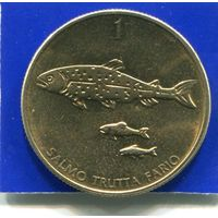 Словения 1 толар 1995 UNC