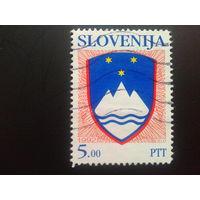 Словения 1992 стандарт герб