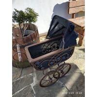 Антикварная коляска для кукол (Германия)