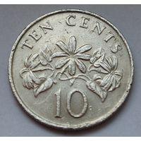 Сингапур, 10 центов 1989 г.