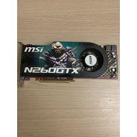 Видеокарта MSI N260GTX. С рубля.
