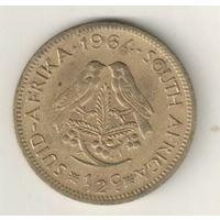 Южная Африка 1/2 цент 1964
