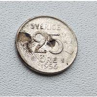 Швеция 25 эре, 1956 2-1-62