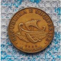 Албания 20 лек 2000 года. Корабль. Инвестируй выгодно в монеты планеты!