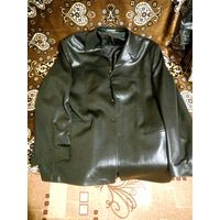 Пиджак куртка черный большого размера в идеале