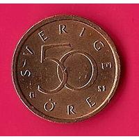 39-07 Швеция, 50 эре 2007 г.