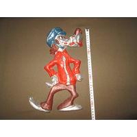 Скульптура барельеф панно настенное Волк Ну погоди!СССР.высота 33 см.
