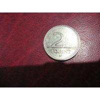 2 форинта 1996 года Венгрия