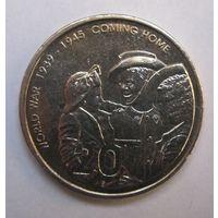 Австралия, 20 центов, 2005