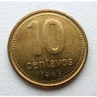 10 сентаво 1993 года Аргентина - из коллекции