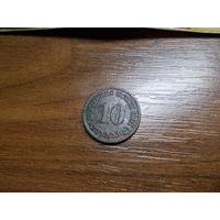 10 пфеннигов 1907А