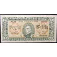 Уругвай. 50 сентаво(0,5 песо) 1939.