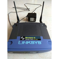 Беспроводная точка доступа (Wi-Fi роутер) Linksys WAP54G