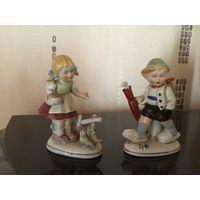 Статуэтка Дети Старая Германия начало 1900-х г цена за одну